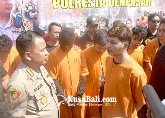 Nusabali.com - 9-tersangka-to-curat-dan-curanmor-diringkus