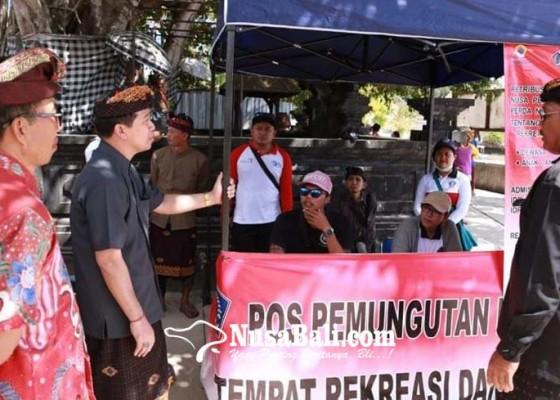 Nusabali.com - bupati-suwirta-tinjau-pos-pemungutan-retribusi