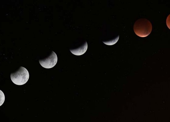 Nusabali.com - gerhana-bulan-sebagian-bakal-berlangsung-besok-catat-waktunya