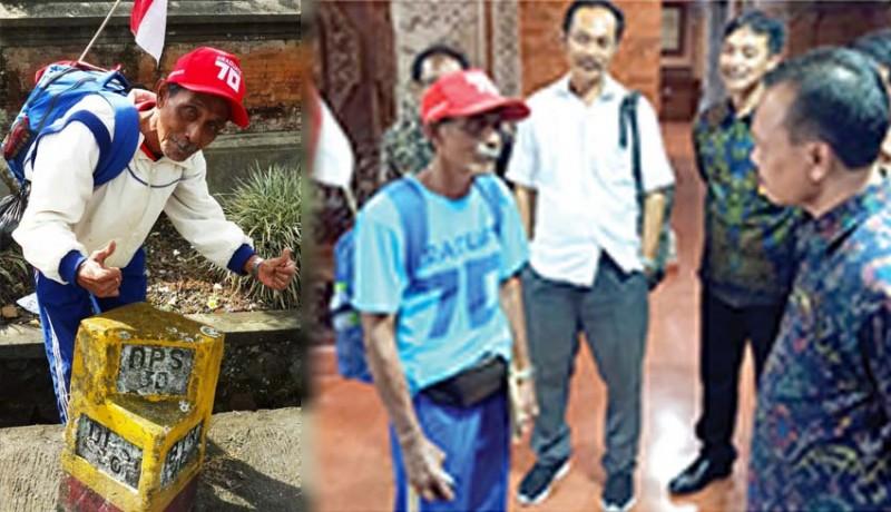 www.nusabali.com-jalan-kaki-singaraja-denpasar-80-kilometer-lalu-temui-gubernur