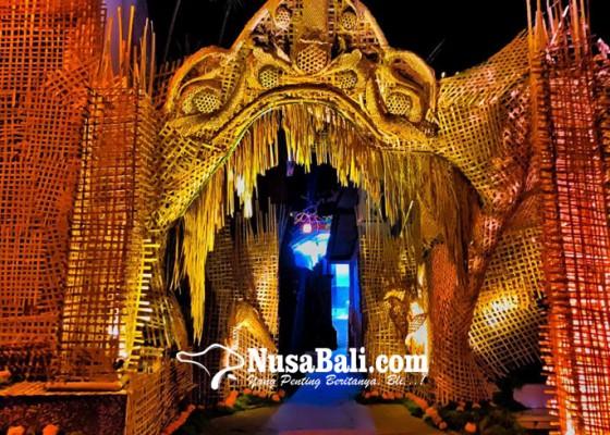 Nusabali.com - ulatan-bambu-potensial-jadi-tren-dekorasi-pawiwahan