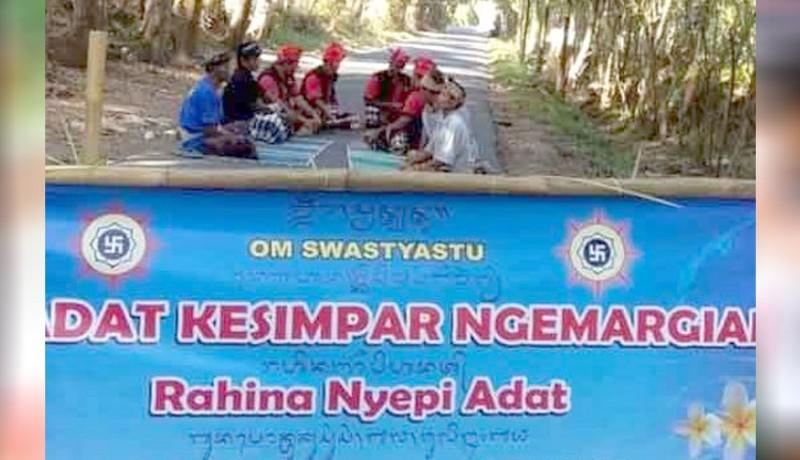 www.nusabali.com-nyepi-adat-di-desa-kesimpar-abang-12-sekolah-dan-4-kantor-perbekel-tutup