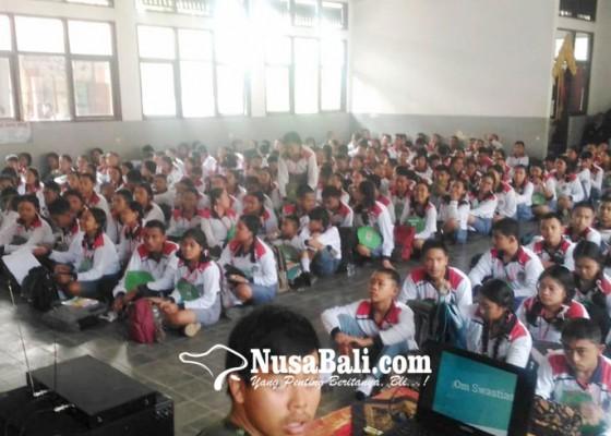 Nusabali.com - mpls-sman-2-bangli-diisi-sosialisasi-bahaya-narkoba