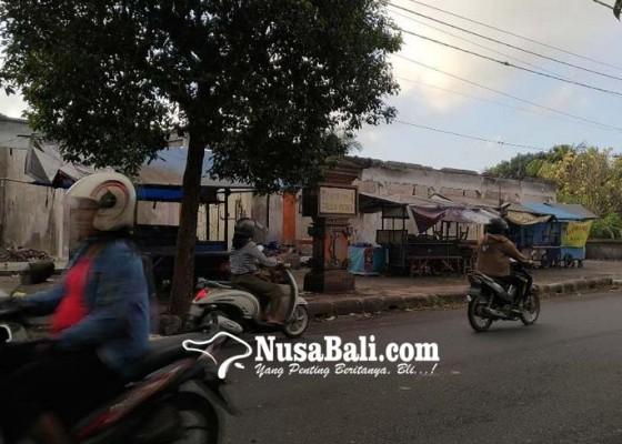 Nusabali.com - lokasi-pasar-masih-berupa-puing