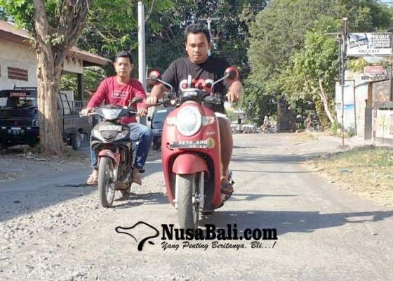 Nusabali.com - perbaikan-jalan-terminal-panarukan-dijatah-rp-300-juta