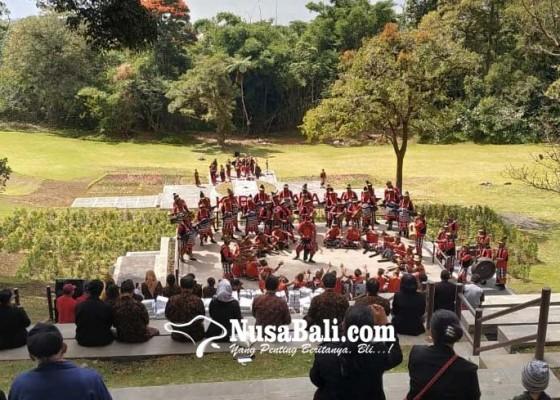 Nusabali.com - taman-surya-nirwana-jadi-daya-tarik-baru-di-kebun-raya-bali