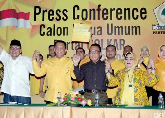 Nusabali.com - tantang-airlangga-bamsoet-dkk-deklarasi-caketum-golkar