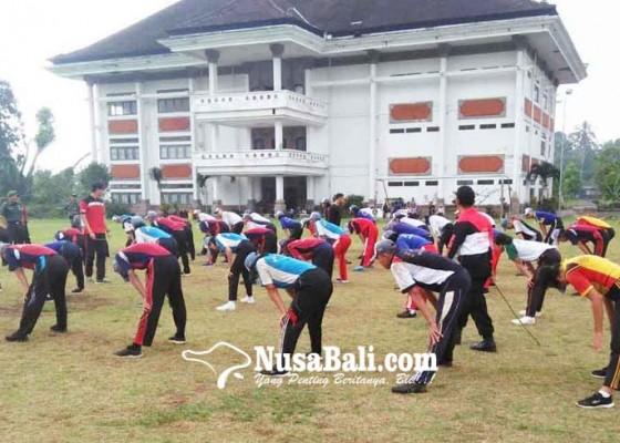 Nusabali.com - calon-paskibraka-mulai-digembleng