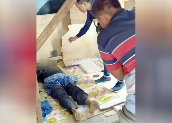 Nusabali.com - buruh-proyek-tewas-saat-tidur