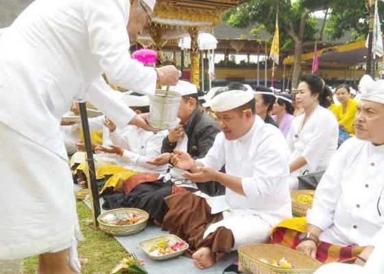 Nusabali.com - pemkab-bangli-ngaturang-bhakti-panganyar-di-pura-mandara-giri-semeru