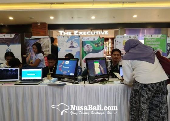 Nusabali.com - keren-mahasiswa-stmik-primakara-gelar-pameran-startup-bikinannya