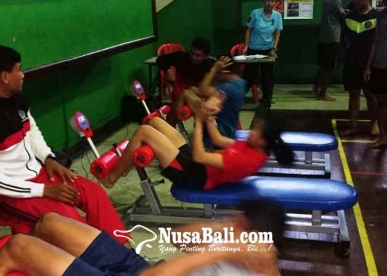 Nusabali.com - tes-fisik-kedua-tentukan-atlet-definitif-denpasar