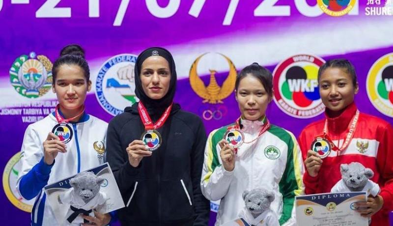 www.nusabali.com-coki-sabet-perunggu-kejuaraan-akf-world-karate-2019