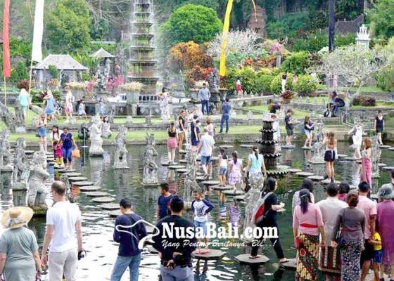 Nusabali.com - kunjungan-terpecah-sejumlah-objek-wisata-terlihat-sepi