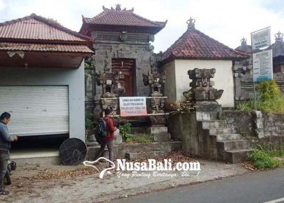 Nusabali.com - ketua-koperasi-kabur-rumah-disegel