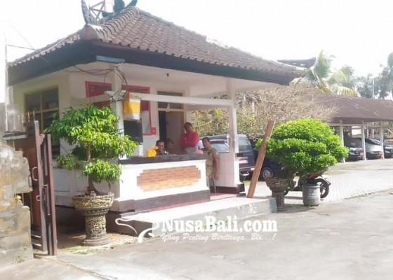 Nusabali.com - penjagaan-di-kantor-bupati-bangli-diperketat