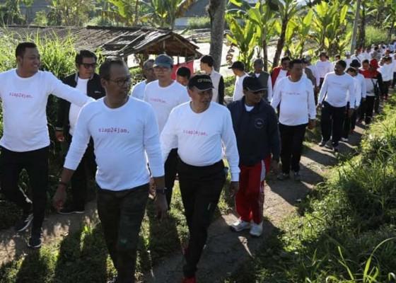 Nusabali.com - wujudkan-teamwork-solid-pejabat-di-gianyar-ikuti-outbound