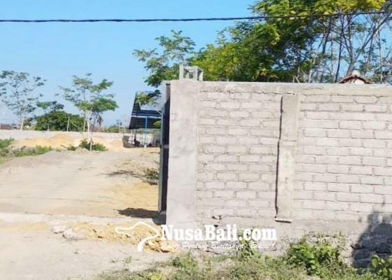 Nusabali.com - dipertanyakan-bangunan-pabrik-di-sebelah-puskesmas-ii-negara