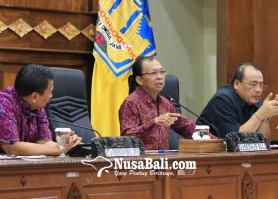 Nusabali.com - bali-ajukan-dinas-pemajuan-desa-adat