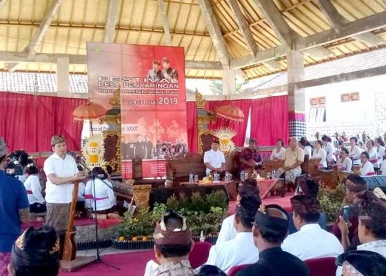 Nusabali.com - festival-desa-penyaringan-dibuka-kegiatan-rembug-desa
