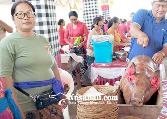 Nusabali.com - pesta-babi-guling-semarakkan-hut-desa-penyaringan