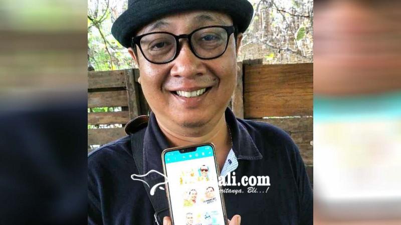 Nusabali Com Pejabat Hingga Pengusaha Bergaya Lewat Stiker Wa