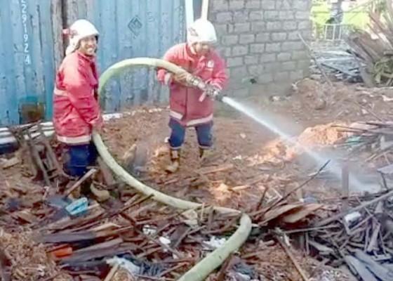 Nusabali.com - sehari-2-kejadian-warga-bakar-sampah-apinya-membesar