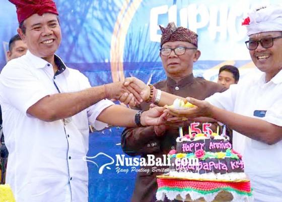 Nusabali.com - hut-sman-1-amlapura-gelorakan-semangat-siswa