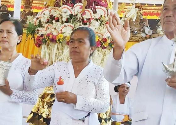 Nusabali.com - desa-adat-gianyar-beng-gelar-karya-agung-di-pura-dalem