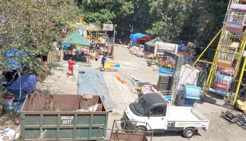www.nusabali.com-sampah-eks-pasar-adat-pergung-ditarget-bersih-rabu-besok