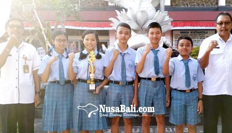 www.nusabali.com-smpn-1-tabanan-borong-juara-fls2n-akan-wakili-bali-ke-tingkat-nasional