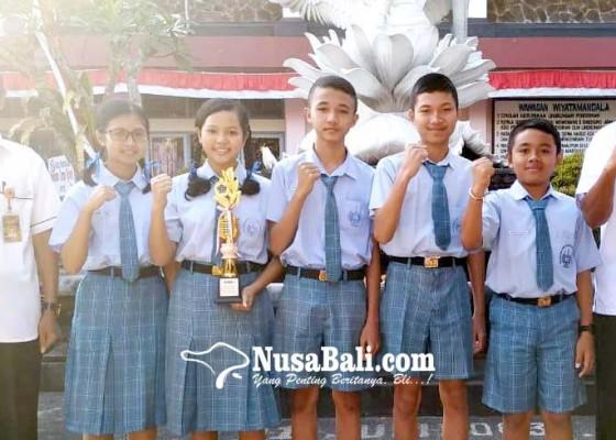 Nusabali.com - smpn-1-tabanan-borong-juara-fls2n-akan-wakili-bali-ke-tingkat-nasional
