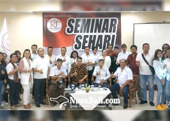 Nusabali.com - ormas-rumah-jokowi-gelar-seminar-pancasila