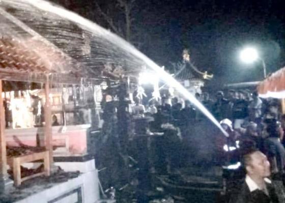 Nusabali.com - gedong-suci-terbakar-kerugian-rp-100-juta