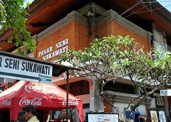 Nusabali.com - proyek-pasar-seni-sukawati-molor