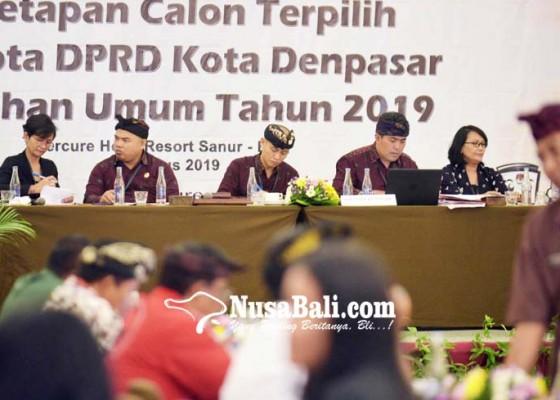 Nusabali.com - kpu-tetapkan-45-anggota-dprd-kota-denpasar