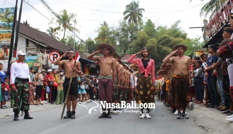 www.nusabali.com-gerak-jalan-kreatif-tegallalang-macetkan-lalin