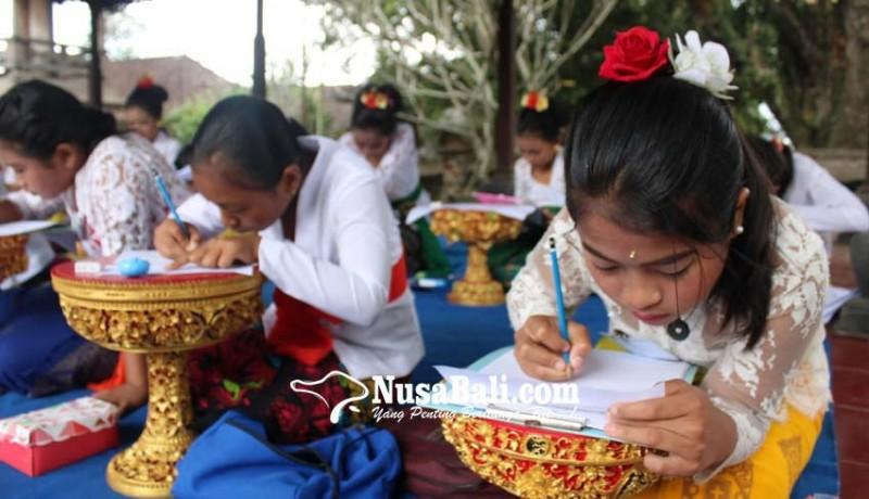 www.nusabali.com-meriahkan-hut-ri-payangan-gelar-lomba-aksara-bali