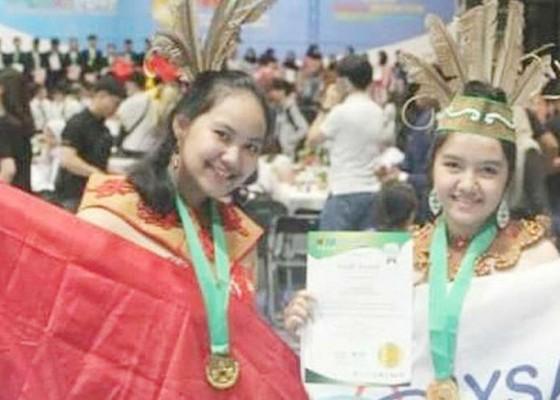 Nusabali.com - siswa-sma-di-kalteng-juara-dunia-penyembuh-kanker