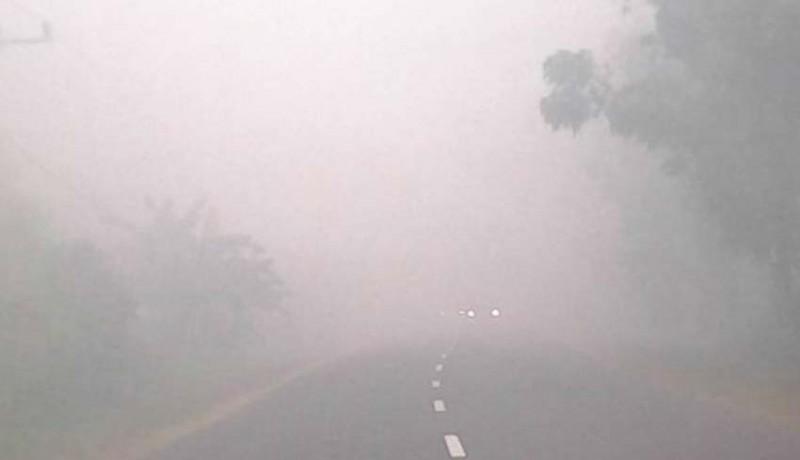 www.nusabali.com-kabut-asap-di-palangka-raya-sekolah-diliburkan
