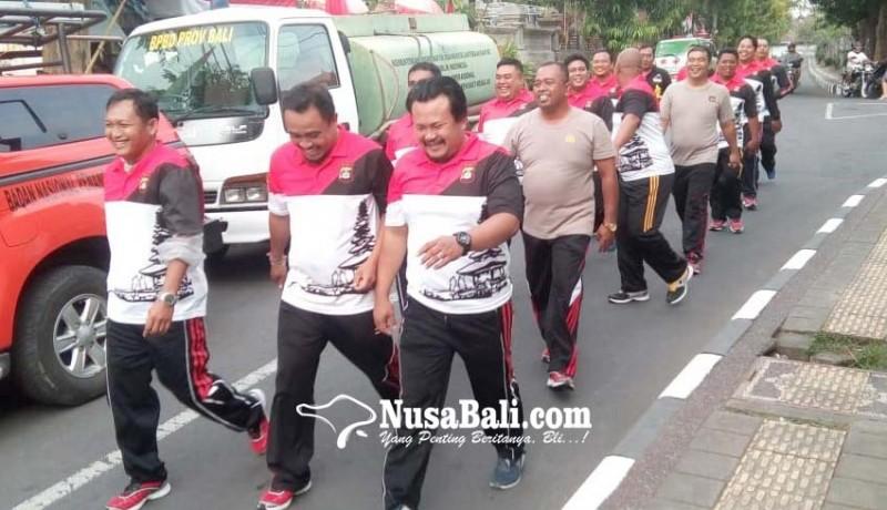 www.nusabali.com-puluhan-polisi-gendut-dipaksa-turun-berat-badan