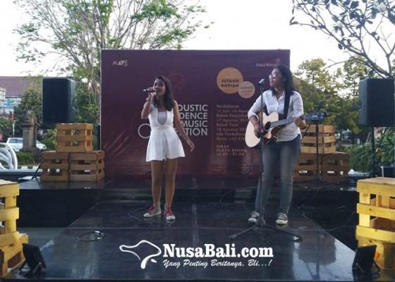 Nusabali.com - semarakkan-hut-ke-74-ri-plaza-renon-gelar-lomba-akustik-kemerdekaan