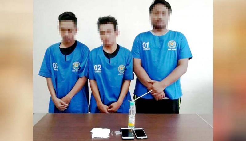 www.nusabali.com-5-orang-anak-kos-positif-narkoba
