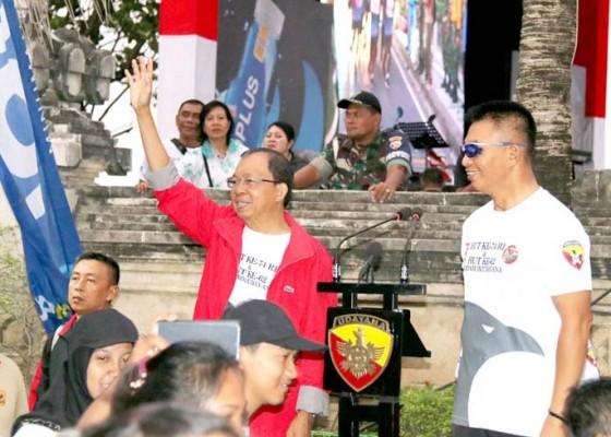 Nusabali.com - koster-berharap-udayana-run-dapat-dijadikan-event-tahunan