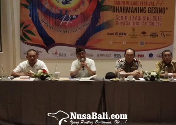 Nusabali.com - usung-tema-dharmaning-gesing-sanur-village-festival-2019-siap-digelar