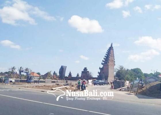 Nusabali.com - penataan-gate-puspem-badung-dikebut