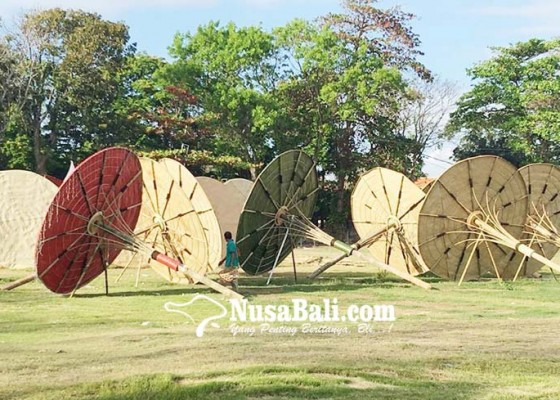 Nusabali.com - area-festival-didominasi-bambu
