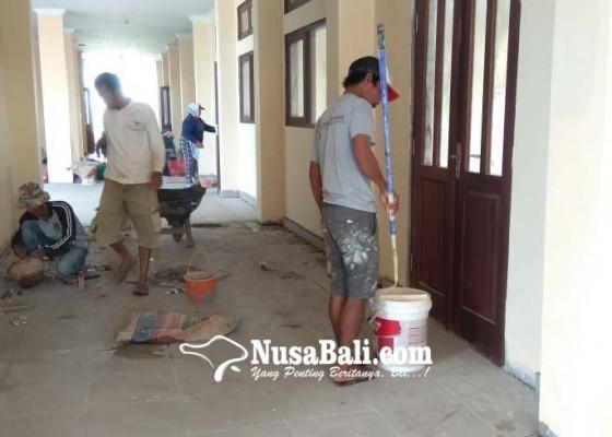 Nusabali.com - proyek-smpn-3-sukawati-terancam-molor
