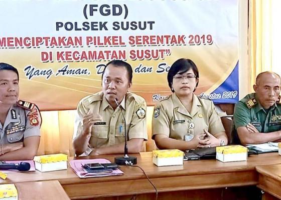 Nusabali.com - amankan-pilkel-polsek-susut-gelar-fgd