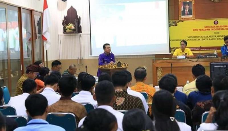www.nusabali.com-peradah-gelar-seminar-hindu